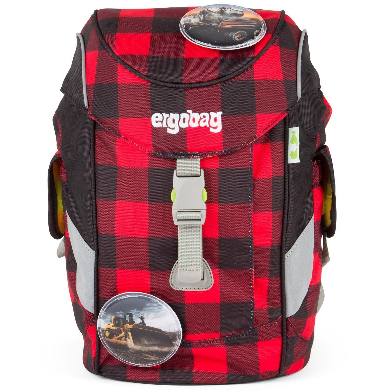 Unisex ergobag Mini Schulrucksack 26 cm rot | 04260389768175