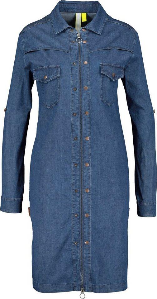alife & kickin -  Jeanskleid »JudyAK« trendy Kleid mit 2-Wege-Zip
