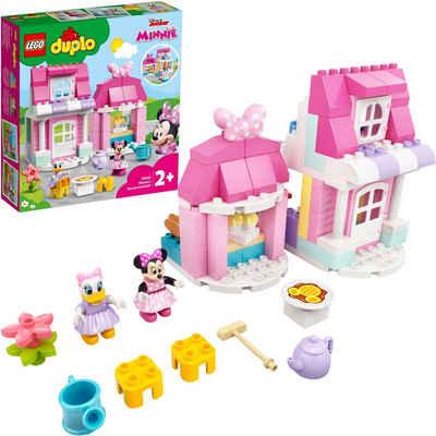 LEGO® Konstruktionsspielsteine »Minnies Haus mit Café (10942), LEGO® DUPLO® Disney™«, (91 St)