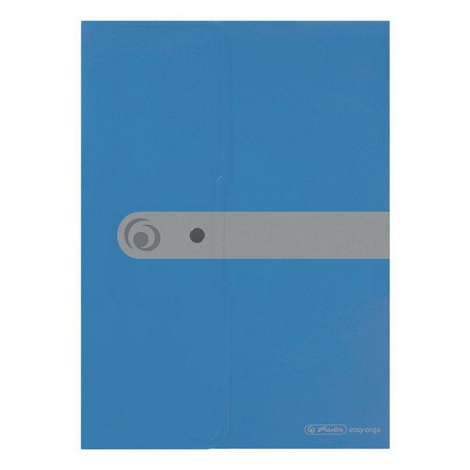 Herlitz Dokumententasche »easy orga« in blau