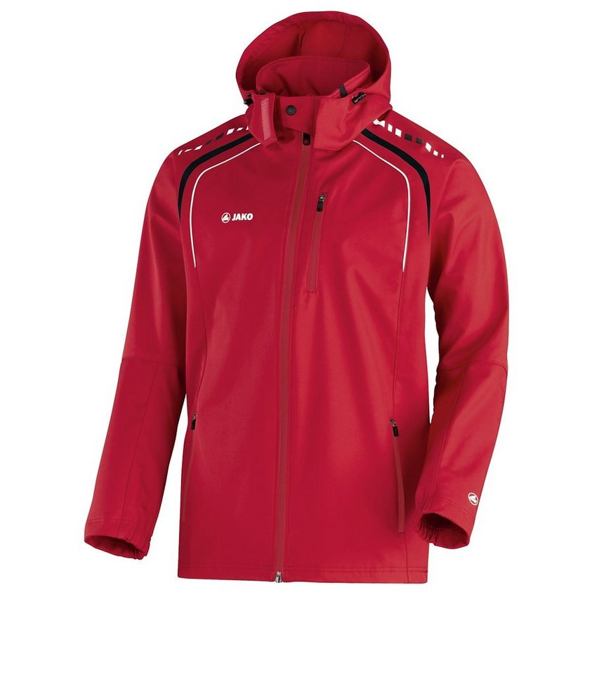 JAKO Outdoorjacke Champion Herren in rot/schwarz