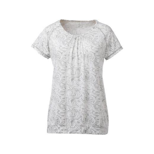 DEPROC Active Funktionsshirt »JULIET WOMEN« mit Allover-Print