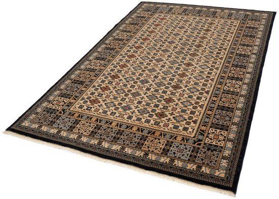 Wollteppich »Saharna 6428«, THEKO, rechteckig, Höhe 10 mm, reine Wolle, Orient-Optik, mit Fransen, Wohnzimmer