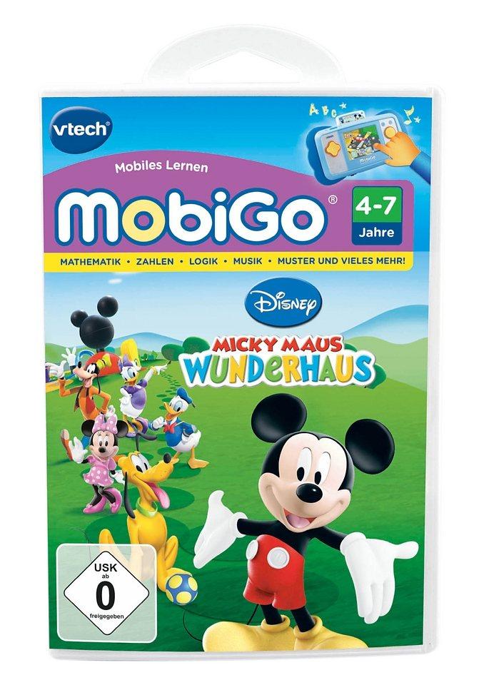 Lernspiel, VTech, »MobiGo2, Disney Mickey Maus Wunderhaus«