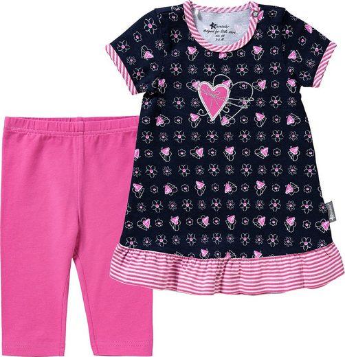 Sterntaler® A-Linien-Kleid »Baby-Kleid mit Leggins - Kleider -«