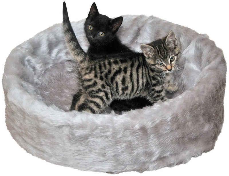 SILVIO design Tierbett »Ruhe- und Schlafinsel«, BxLxH: 50x50x12 cm, grau