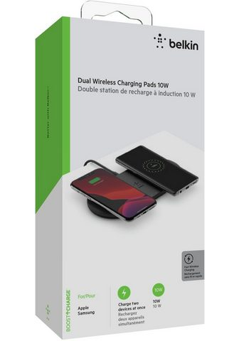 Belkin »2x 10W Dual Wireless Charging Pad su ...