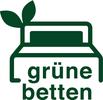 grüne betten