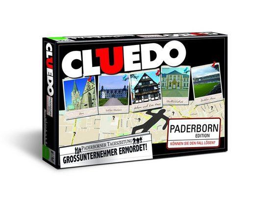 Winning Moves Spiel, Brettspiel »Cluedo Paderborn«