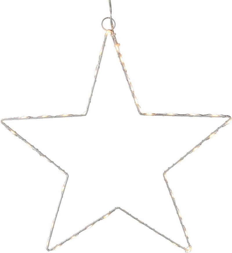 AM Design LED Stern, aus Draht, mit Öse zum Aufhängen
