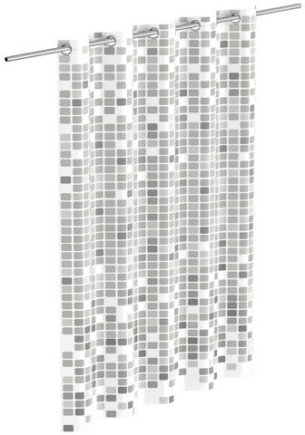 Eisl Duschvorhang »Mosaik« Breite 180 cm gr...