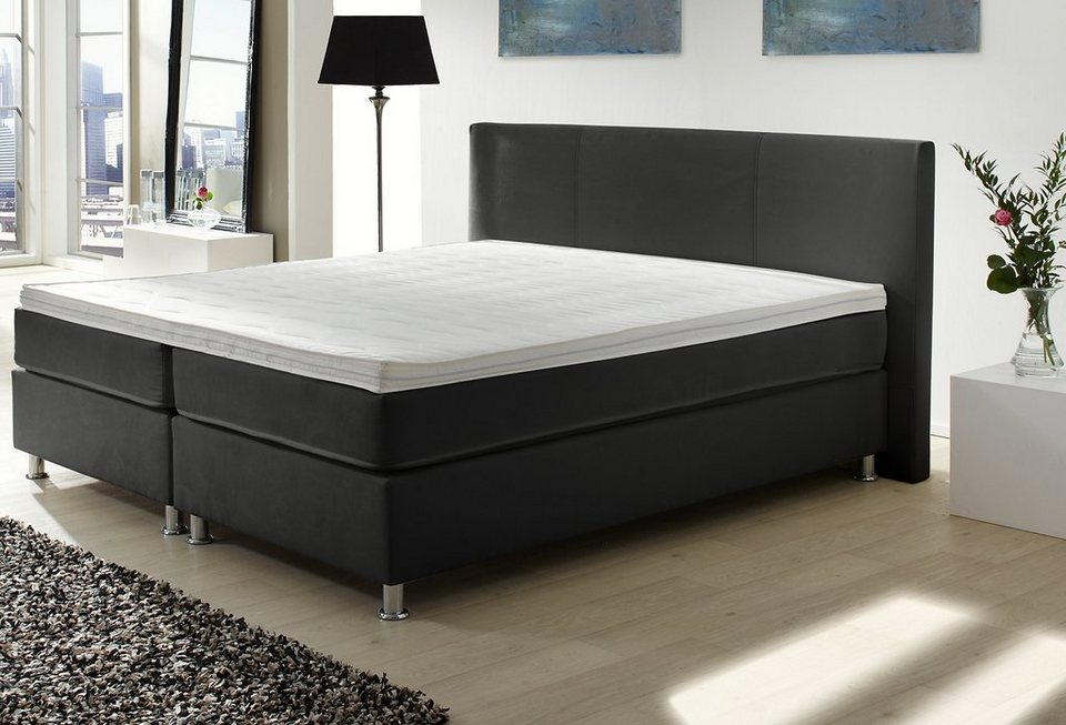 boxspring bett online kaufen otto. Black Bedroom Furniture Sets. Home Design Ideas