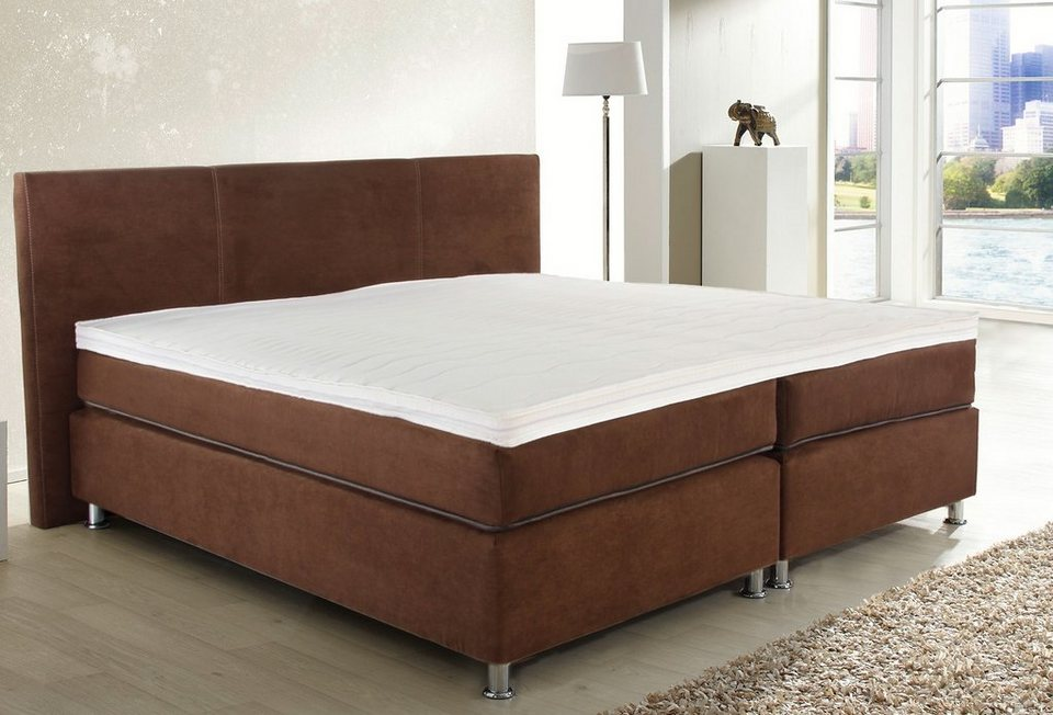box spring bett kreative ideen ber home design. Black Bedroom Furniture Sets. Home Design Ideas