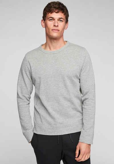 s.Oliver Sweatshirt mit kleinem Markenlabel