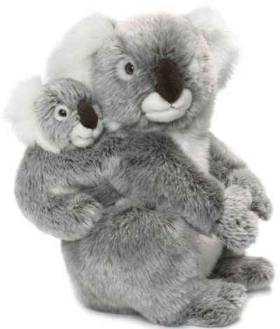 WWF Kuscheltier »Koalamutter mit Baby 28 cm«, zum Teil aus recycelten Material