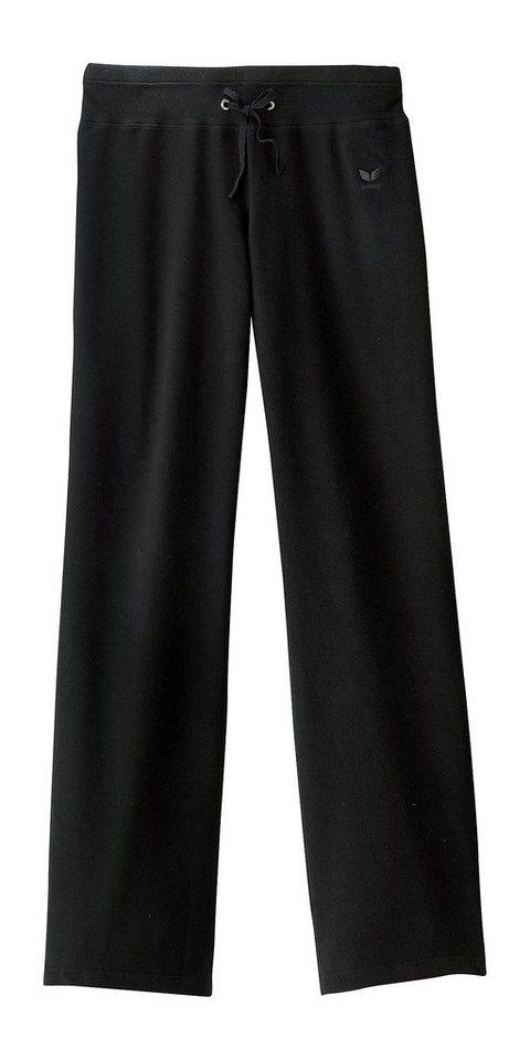 ERIMA Sweathose Damen Langgröße in schwarz