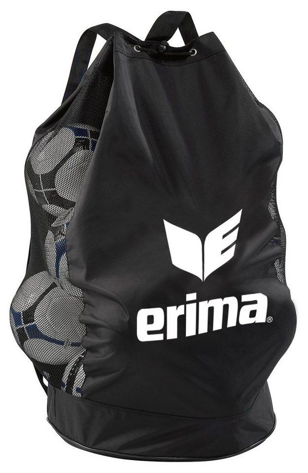 ERIMA Ballsack für 18 Bälle in schwarz