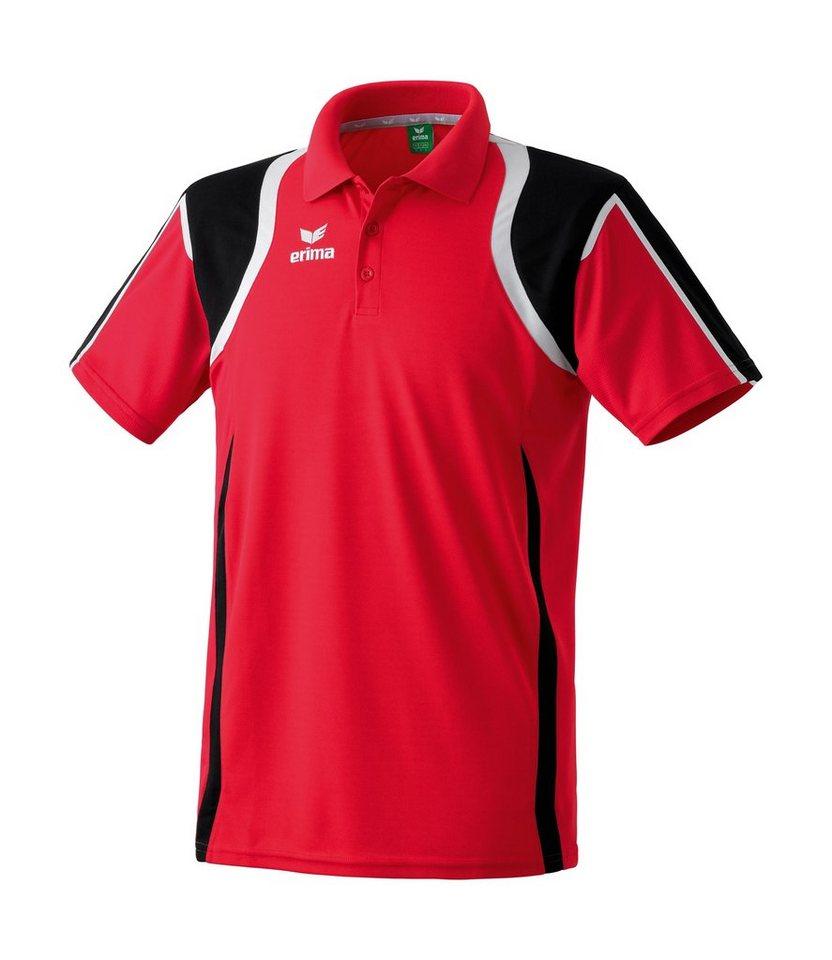 ERIMA Razor Line Poloshirt Herren in rot / schwarz / weiß