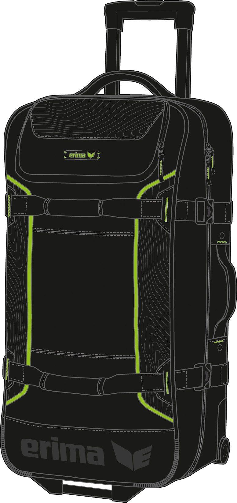 ERIMA Travel Line Sportreisetasche S mit Rollen