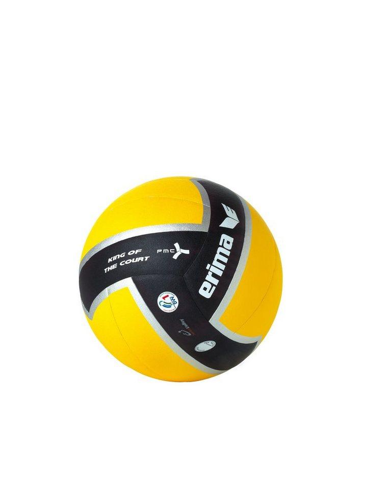 ERIMA Volleyball King of the Court Spielball 2011 in schwarz / gelb
