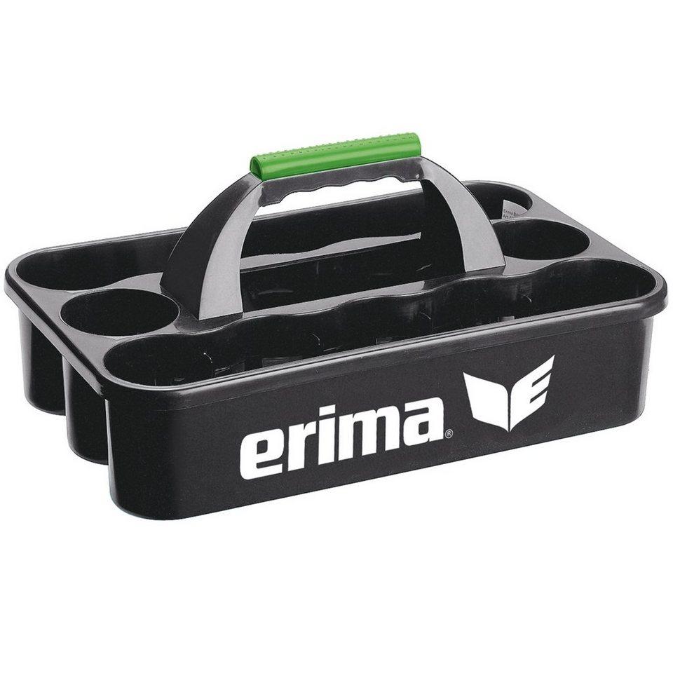 ERIMA Flaschenträger in schwarz / weiß