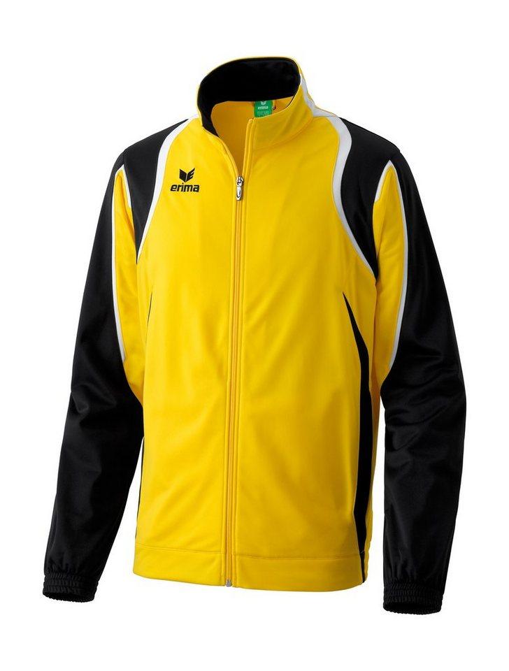 ERIMA Razor Line Polyesterjacke Herren in gelb / schwarz