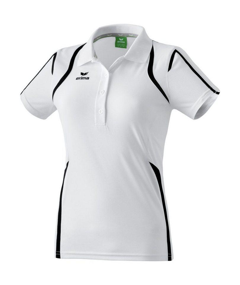 ERIMA Razor Line Poloshirt Damen in weiß / schwarz