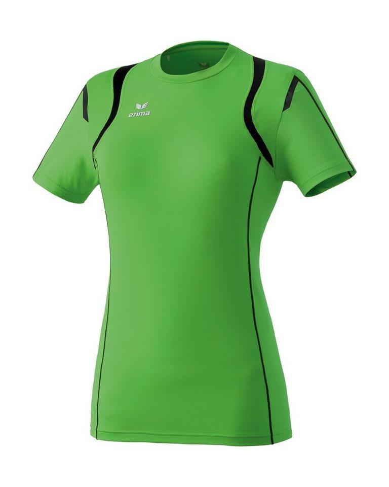 ERIMA Razor Line Athletic T-Shirt Damen in grün / schwarz
