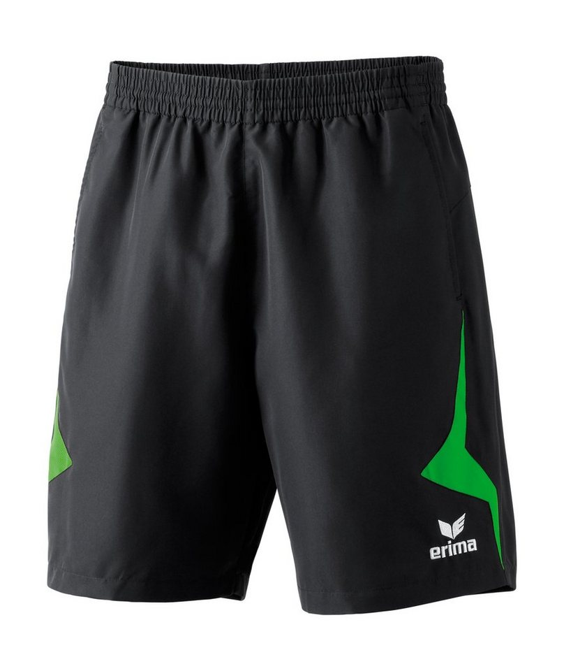 ERIMA Razor Line Short Herren in schwarz / grün
