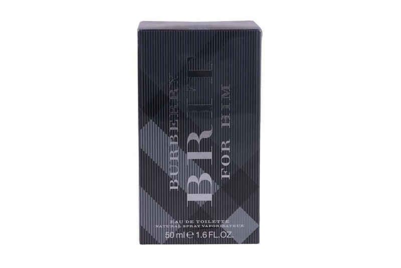 BURBERRY Eau de Toilette »Burberry Brit Eau De Toilette Spray 50ml For Men«