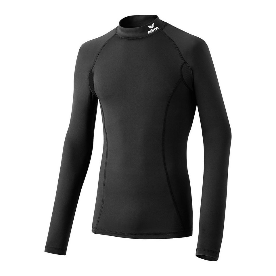 ERIMA Sport Unterhemd Langarm Kinder in schwarz