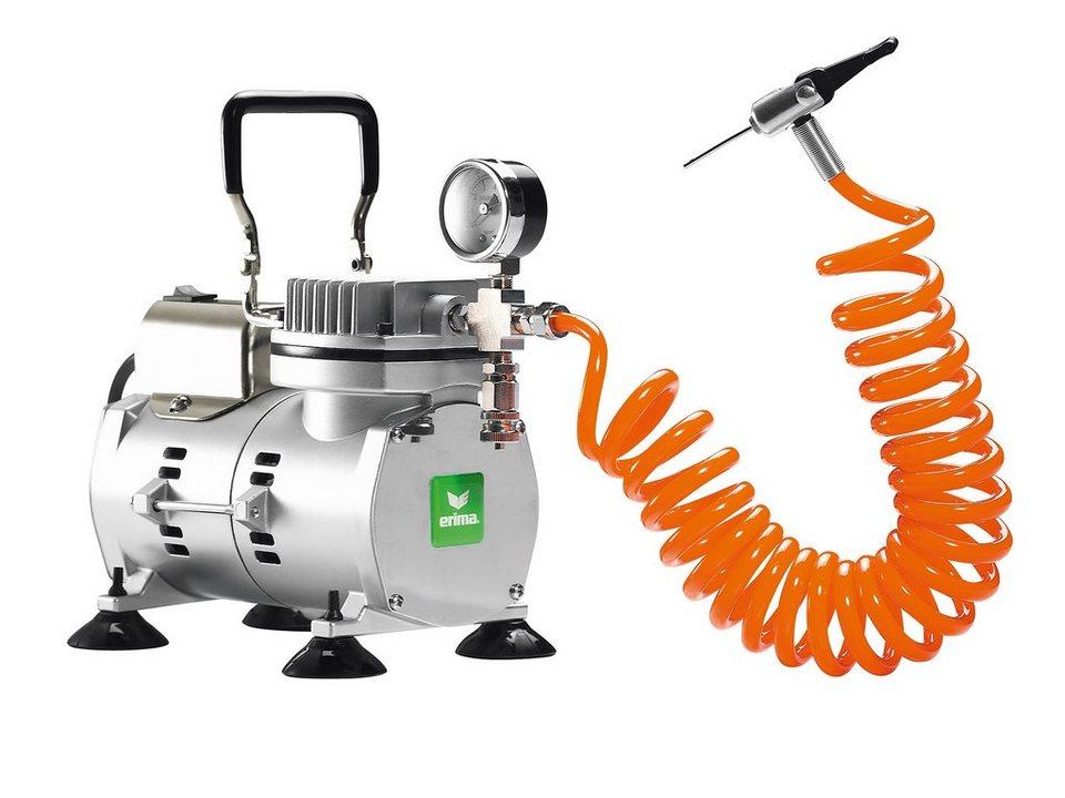 ERIMA Kompressor in silber / orange