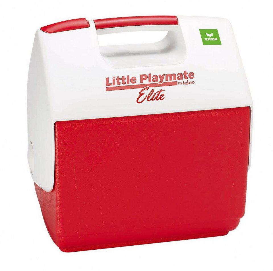 ERIMA Kühlbox / Eisbox in rot / weiß