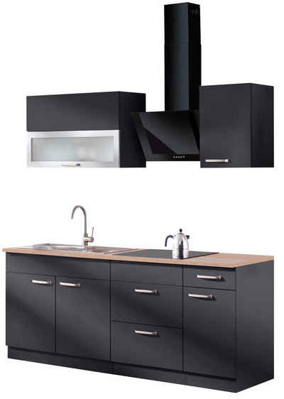 wiho Küchen Küchenzeile »Michigan«, Breite 200 cm