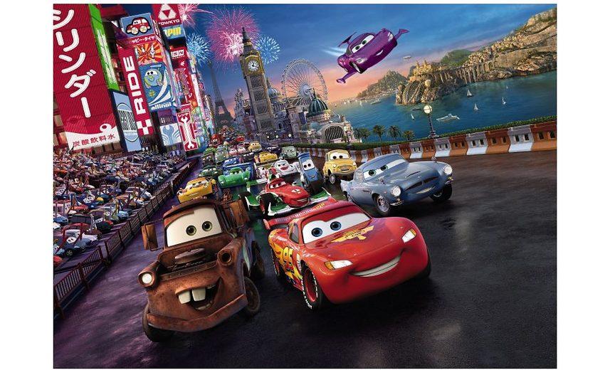 Fototapete, Komar, »Cars Race«, 254/184 cm