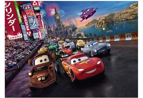Fototapete »Cars Race 254x184cm«, Comic