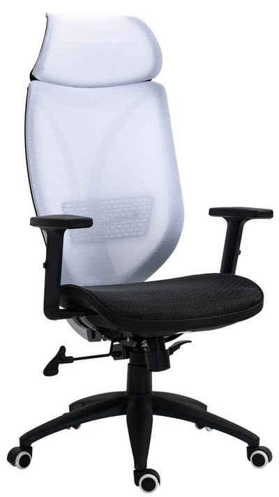 CLP Schreibtischstuhl »Bürostuhl Libolo«, höhenverstellbar und drehbar