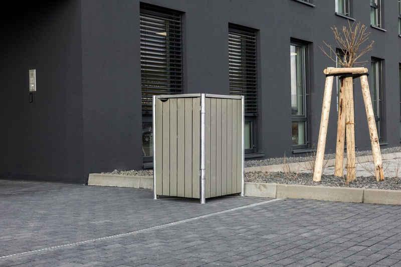 Hide Mülltonnenbox, für 1 x 240 l, grauxnatur