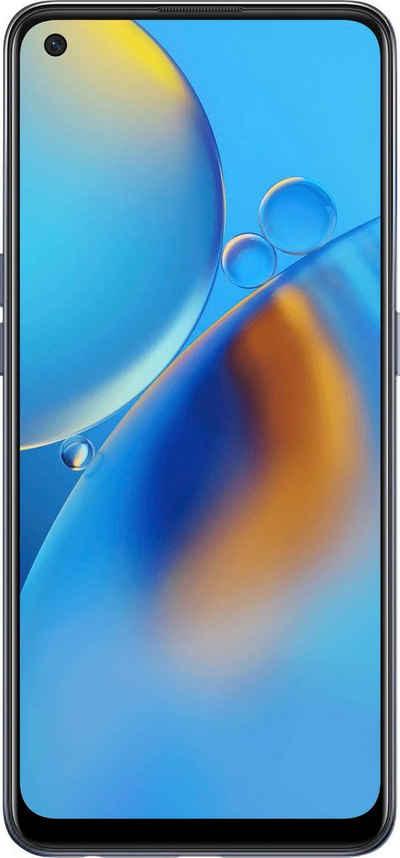 Oppo A74 Smartphone (16,3 cm/6,43 Zoll, 128 GB Speicherplatz, 48 MP Kamera)