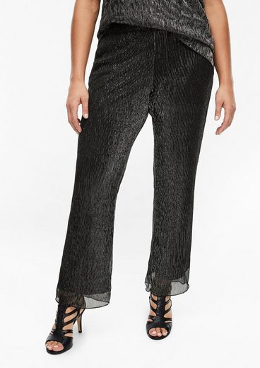 TRIANGLE Jerseyhose »Hose im Glamour-Style« (1-tlg)