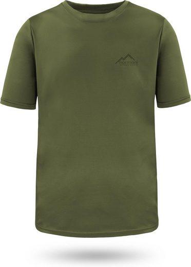 normani Funktionsshirt »Herren T-Shirt Agra« Kurzarm Sportswear Funktions-Sport Fitness Shirt mt Cooling-Material