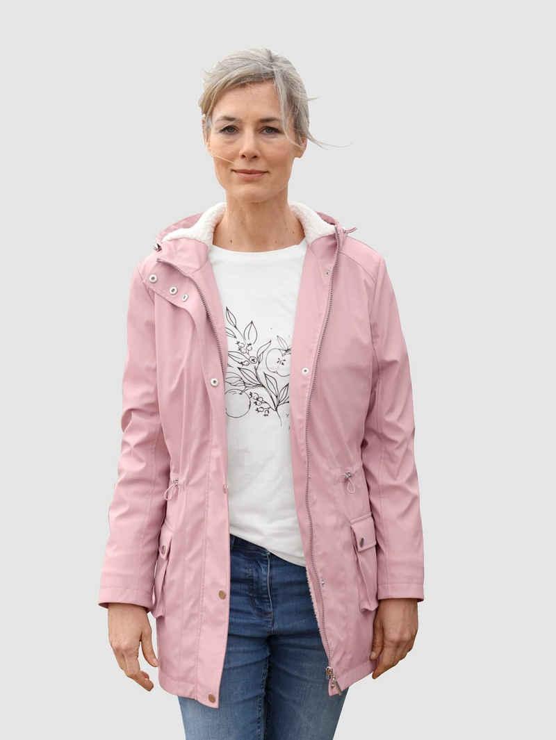 Dress In Regenjacke mit weitenverstellbarer Kapuze