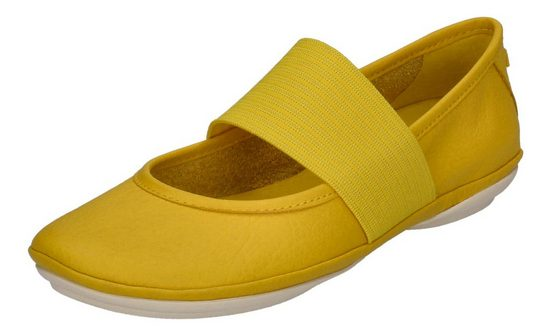 Camper »RIGHT NINA 21595-151« Schnürschuh Gelb (Medium Yellow 720)