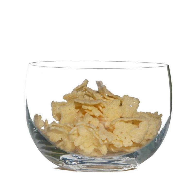 Blue Chilli Design Schale »Glasschale für Snacks, Salat oder Chips«, (Rund), Ø 20 cm, spülmaschinengeeignet, kältebeständig