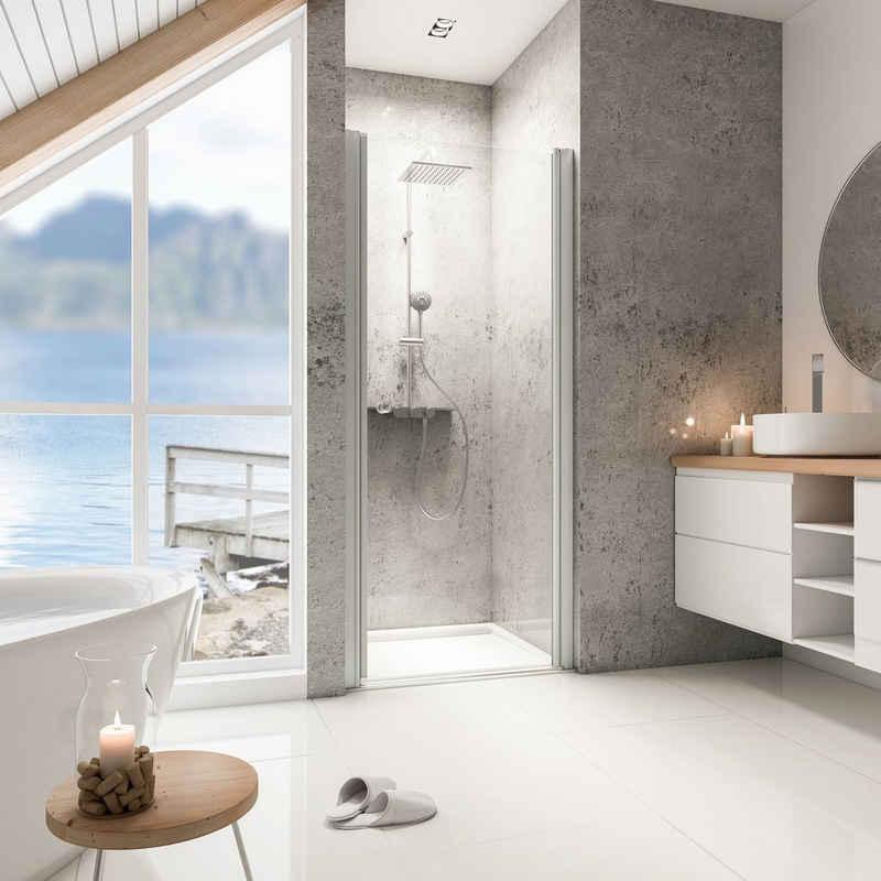 Schulte Dusch-Drehtür »Garant«, 90x200 cm, Einscheibensicherheitsglas, Türöffnung nach außen