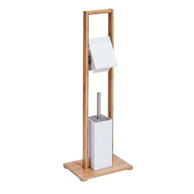 WC-Garnitur »Bamboo«, Zeller Present, Entnehmbarer Schmutzwasserfänger aus Plastik
