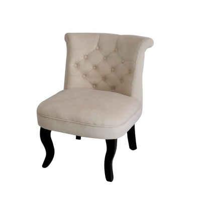 HTI-Line Polsterstuhl »Französischer Sessel Antoinette«, Ankleidesessel