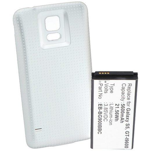AccuCell »Akku für Samsung Galaxy S5, Samsung GT-I9600, Sams« Akku