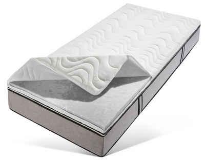 Topper, Beco, 7 cm hoch, Raumgewicht: 35, Hydrux-Schaum, Belastbar, komfortabel + Greenfirst-Bezug gegen Milben - Allergieschutz