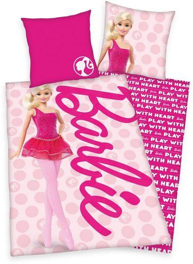 Kinderbettwäsche »Barbie«, Mattel®, mit tollem Barbie-Motiv